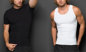 Powerbody Men's Cotton-Blend Compression Undershirt or Tank