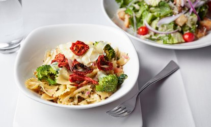 image for Any pasta Dish Each for Two at Olives and Pesto (Up to 56% Off)