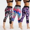 Bally Total Fitness Women's Printed Capri Leggings