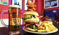 Choice of Burger with a Glass of Wine or Pint of Beer for Up to Four at The Grove (Up to 40% Off)