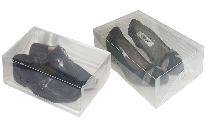 Set 3 scatole porta scarpe groupon goods - Scatole porta scarpe ...