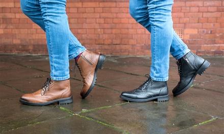 Redfoot Men's Brogue Boots