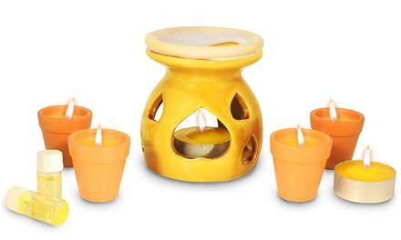 Set di candele aromatiche