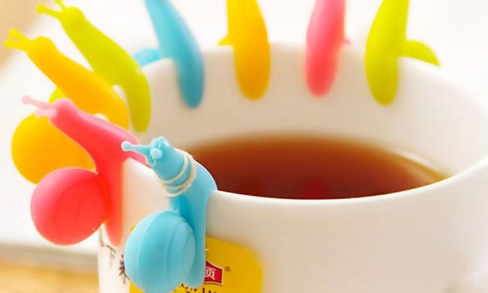 Portabustine di tè a lumaca