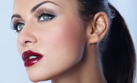 Full-Face Threading or Basic Facial with Brow Threading at Just Threading (Up to 57% Off)