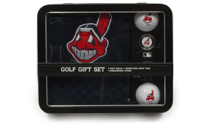 mlb 4 piece golf gift set groupon goods. Black Bedroom Furniture Sets. Home Design Ideas