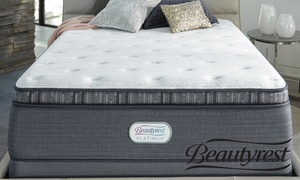 "Beautyrest Platinum 15"" Pillowtop Mattress. Free White Glove Delivery."