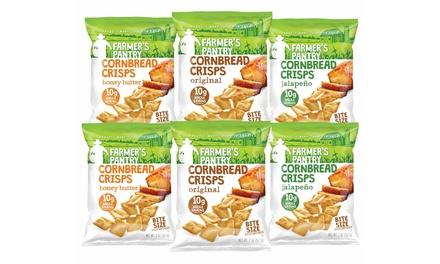 Farmer's Pantry Crisps (8-Pack) and Sampler Pack (6-Piece)