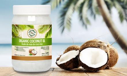 250, 500 ou 1000 ml de l'huile de coco bio minceur et santé