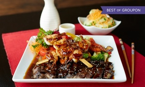 Sakura Japanese Restaurant: Sushi and Japanese Cuisine for Two, Four, or More at Sakura Japanese Restaurant (40% Off)