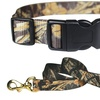 Realtree MAX-4 Camouflage Adjustable Collar and Leash Combo