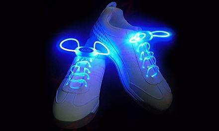 Lacci per scarpe con LED luminosi