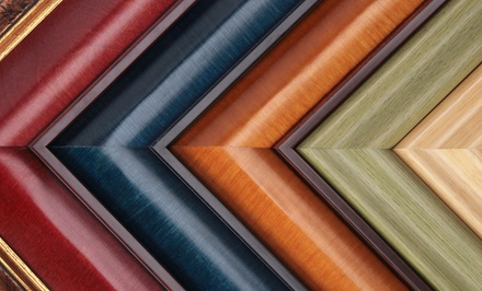 Custom Framing at Prairiebrooke Arts (Up to 63% Off). Two Options Available.