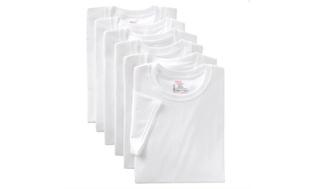 7-Pack Hanes Men's Crew Neck or V-Neck Undershirts
