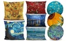Vincent van Gogh Post-Impressionist Pillows. Multiple Sizes Available