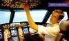 EVS FLIGHTTRAINING - EVS FLIGHTTRAINING,: Bis zu 180 Min. Flugsimulator im Cockpit (Airbus 320), opt. mit Bewegung bei EVS Flighttraining (bis zu 54% sparen*)