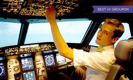30 ,60 ,90, 120 o. 180 Min. Flugsimulator mit Bewegung, Fullflight o. Fixed base inkl. Einweisung bei EVS Flighttraining