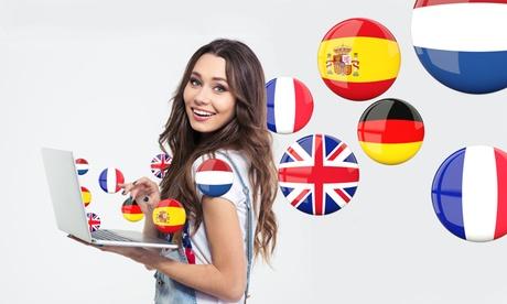 Hasta 24 meses de curso online de 1 o 2 idiomas a elegir entre inglés, francés o alemán desde 9,90 € en Online Trainers