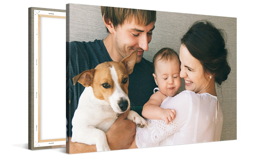 Up to 90% off on Custom Canvas Print from CanvasOnSale