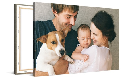 """One 16x12"""", 20x16"""", 36x24"""", or 40x30"""" Custom Canvas Print from CanvasOnSale (Up to 93% Off)"""