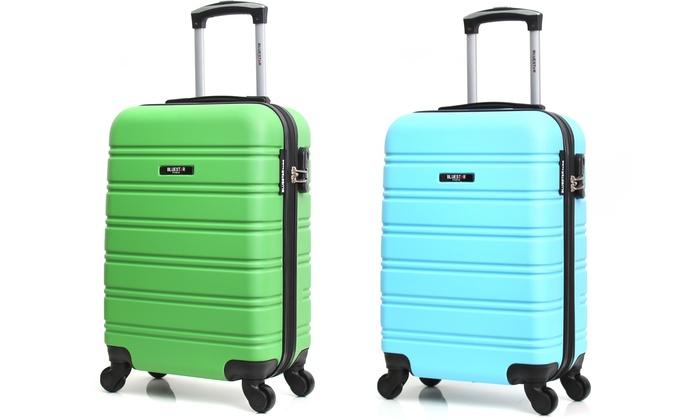 Bluestar Bilbao ABS Suitcase Groupon Goods