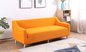 Stretchable Sofa Cover with Pattern