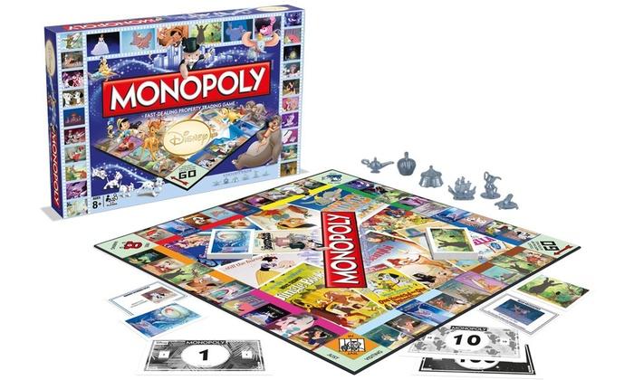 jeu monopoly disney classique groupon. Black Bedroom Furniture Sets. Home Design Ideas