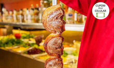 #Buffet de churrasco com saladas e mais à vontade no Park Gril