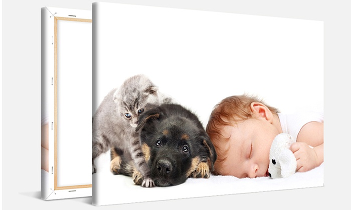 Canvas On Sale: Personalized 12x8 Canvases from CanvasOnSale