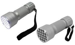 Torche avec boîtier en aluminium