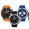 Mos Casablanca Men's Watch with Silicone Band