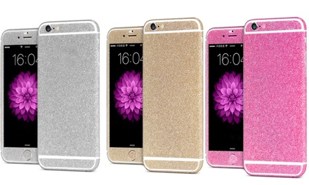 Glitterstickers voor iPhone 5/5S, 6/6S, 6/6S Plus, 7/7 Plus