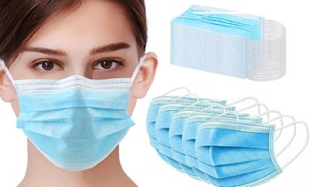 Disposable Three-Ply Face Masks