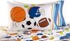 Varsity All Sports Full Sheet Set 100% Cotton: Varsity All Sports 100% Cotton Full Sheet Set