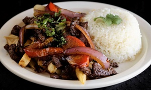 Up to 40% Off Peruvian Cuisine at Tineo Peruvian Cafe at Tineo Peruvian Cafe, plus 6.0% Cash Back from Ebates.