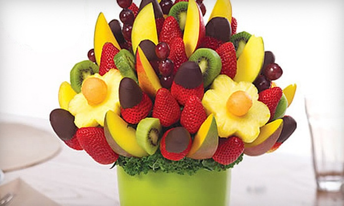 Edible Arrangments - Whiteaker Community: $10 for $20 Worth of Fresh-Fruit Bouquets, Chocolate-Dipped Fruit, and Stuffed Bears at Edible Arrangements