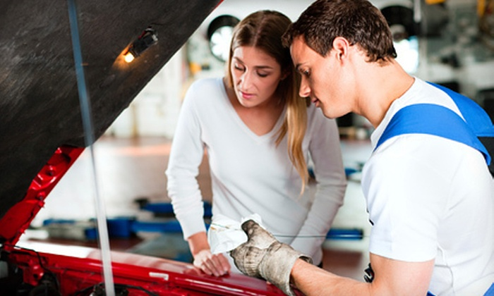 Drum Hill Sunoco - Chelmsford: $39 for Three Full-Service Oil Changes at Drum Hill Sunoco ($89.95 Value)