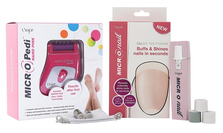 Emjoi MICRO Nail (£13.99) or MICRO Pedi Nano (£11.99) Devices With Free Delivery (Up to 65% Off)