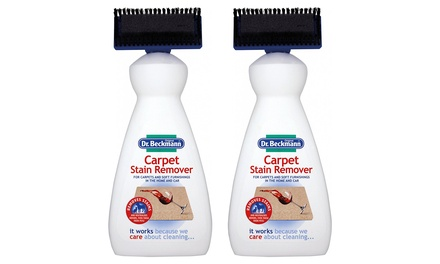 One, Two or Four Dr. Beckmann Carpet Stain Removers with Cleaning Applicator