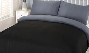 Parure de lit réversible microfibre