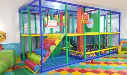 3 o 5 accesos al parque infantil el jard n de calula groupon - El jardin de calula ...