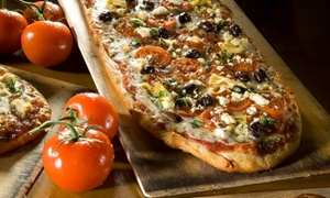 Pizza Fusion: Organic Pizza at Pizza Fusion (Up to 40% Off). Two Options Available.