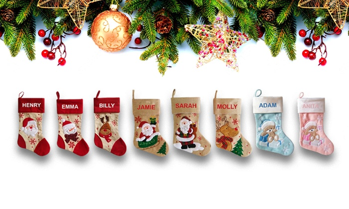 personalised christmas stockings personalised