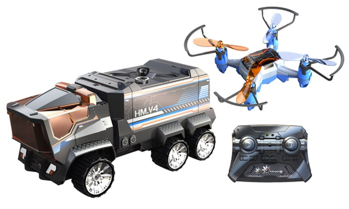 Silverlit Truck And Drone Mission Groupon