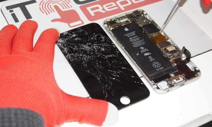 Apple Device Screen Repair at iTouch Repair (Up to 45% Off). Four Options Available.