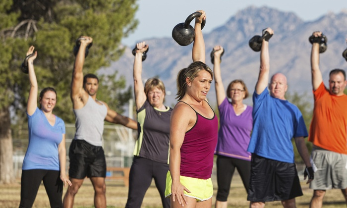 Anytime Fitness @ Sherwood - Broadmoor/Sherwood: Six Weeks of Unlimited Boot-Camp Classes at Anytime Fitness (65% Off)
