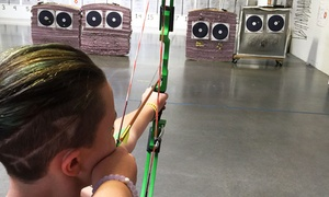 Wasting Arrows Archery: Archery Lane and Bow Rental for One or Two Plus an Optional Lesson at Wasting Arrows Archery (Up to 52% Off)