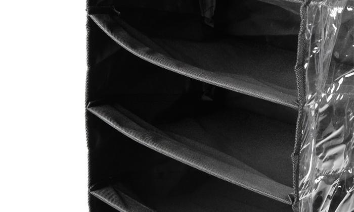 range chaussures suspendu groupon. Black Bedroom Furniture Sets. Home Design Ideas