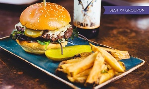 SMOAK: Burger or Hot Dog with Fries for Two or Four at SMOAK (Up to 60% Off)