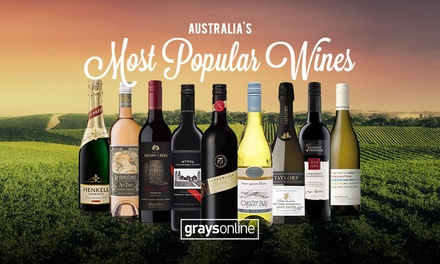 $20 for $40 to Spend on Wine (Min. Spend $80) at GraysOnline